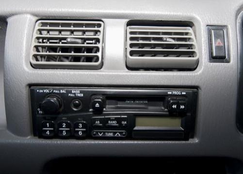 mazda 121 (demio) 1996 2000 aerpro Kenwood Radio Diagram