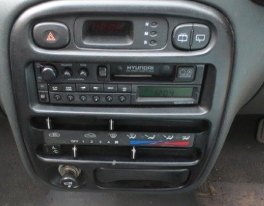 Hyundai Excel 1994 2000 X3 Aerpro