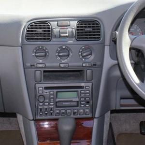 Radioblende Set passend für Volvo S40 V40 Facelift 2000-04 Ablagefach Profiversi