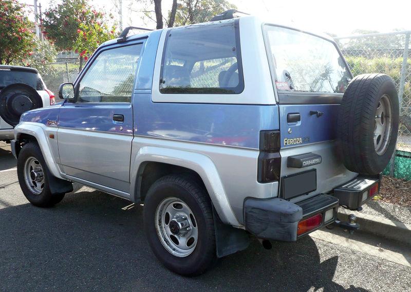 Daihatsu Feroza 19891998 Aerpro. Hide S. Daihatsu. Daihatsu Feroza Radio Wiring Diagram At Eloancard.info