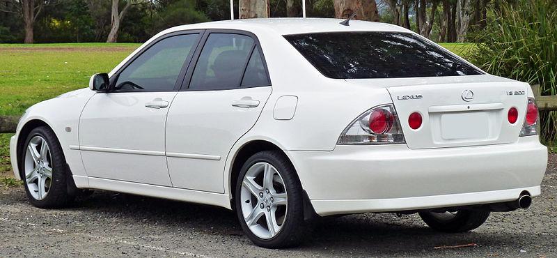 lexus is200 1999-2005   aerpro