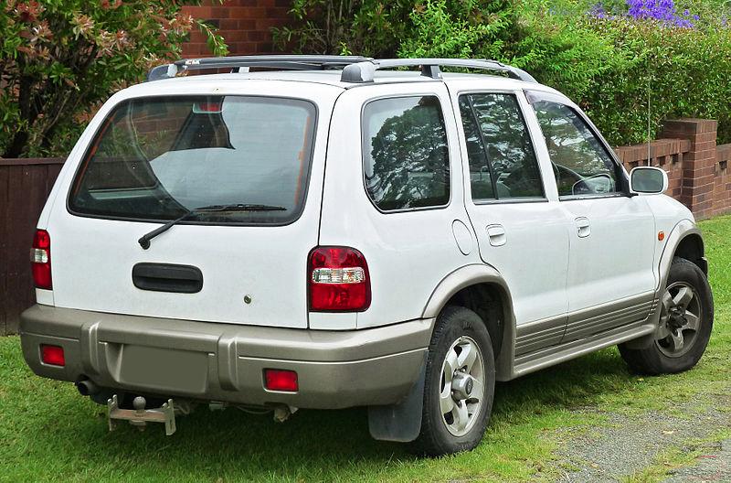 Kia Sportage 1997-2003 JA