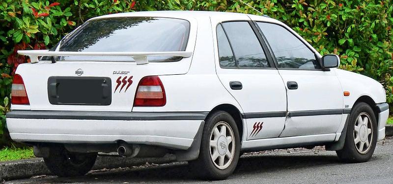 Nissan Pulsar 1991 1995 N14 Excludes Gtir Aerpro