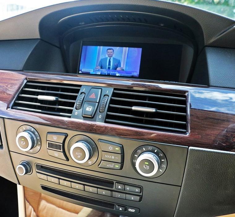 Bmw 5 Series E60 E61 M5 Gps Navigation Head Unit: 2004 Bmw 530i Aftermarket Radio