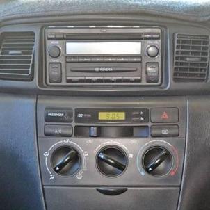 2002 toyota corolla radio removal