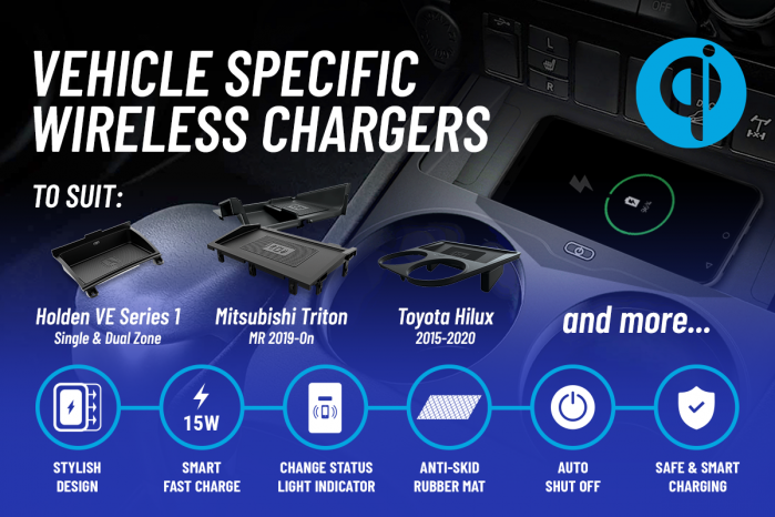 Featured item - AERPRO VEHICLE SPECIFIC WIRELESS CHARGERS