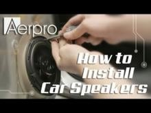 Embedded thumbnail for How to install car speakers