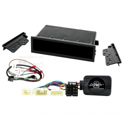 install kit to suit various toyota vehicles black
