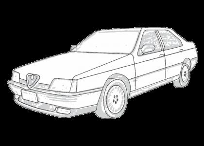 alfa romeo 164 1989 1993 aerpro rh aerpro com 1991 Alfa Romeo 164 1992 Alfa Romeo