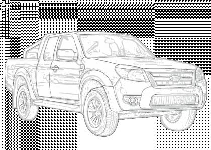 Ford    Ranger 20062011 PJ  PK   Aerpro