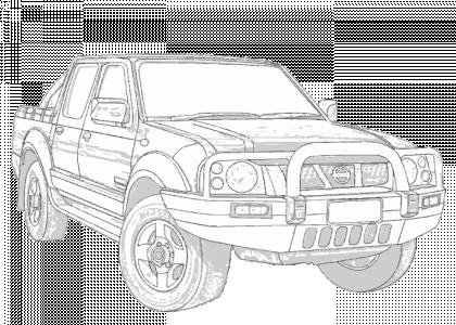 Nissan navara drawings