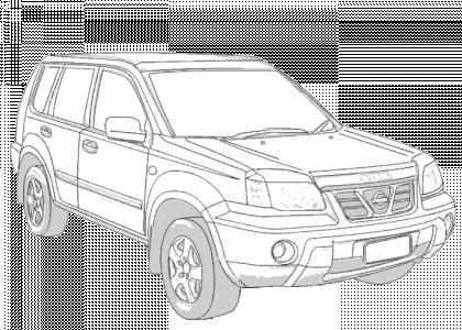 Nissan X-Trail 2001-2007 T30, T30II | Aerpro on