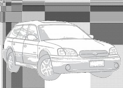 Subaru Outback 2000-2003 | Aerpro