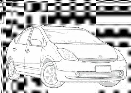Toyota Prius 2004-2008 | Aerpro