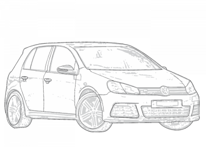 Volkswagen Golf 2009-2013 MK6 | Aerpro
