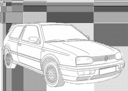 Volkswagen golf 1992 1998 mk3 additionally Volkswagen 1969 1971 T2a Crew Cab further Volkswagen Caddy S2 additionally Honda Civic Mx 1991 likewise Bmw 325 Cabriolet 1988 E30. on volkswagen hatchback car