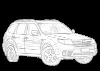 Forester Xt Towing Capacity >> Subaru Forester 2013-2014 SJ | Aerpro