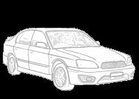 Subaru Liberty (Legacy) 2009-2014 BM, BR   Aerpro